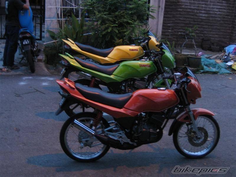 Merah Hijau Kuning     Yamaha RX
