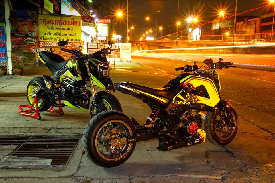 Gallery For > Slammed Honda Grom