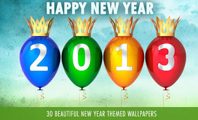 Happy New Year 2013 Wallpapers and Wishes Greeting Cards 077