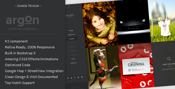 blog joomla theme
