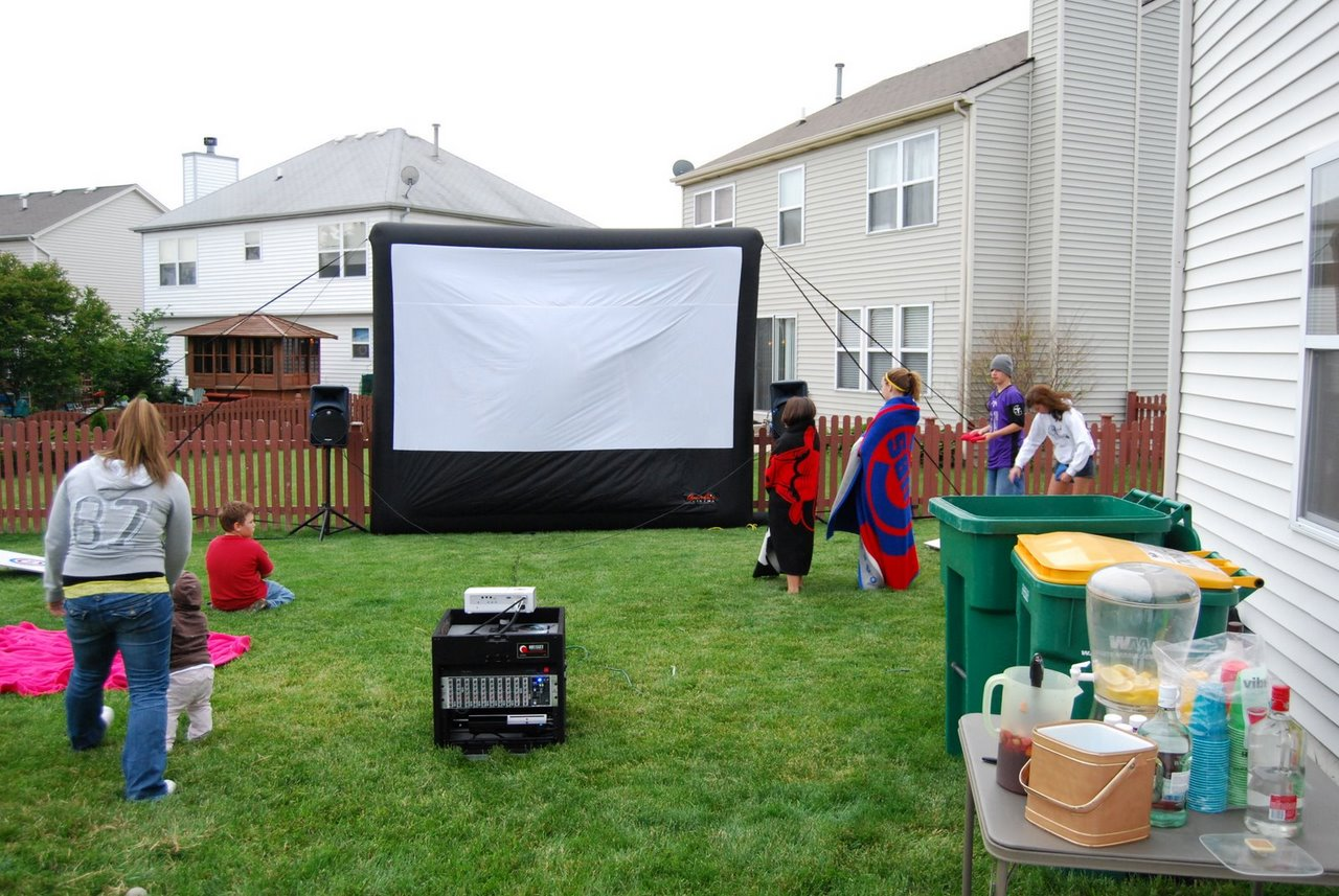 inflatable screen material