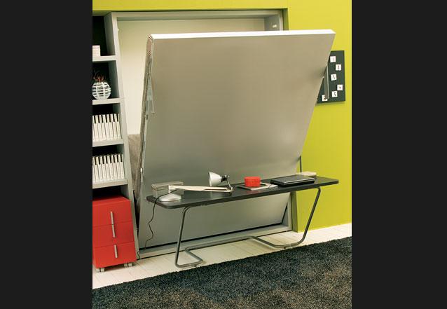 Muebles multifuncionales para espacios reducidos muebles - Mesas de estudio para espacios pequenos ...