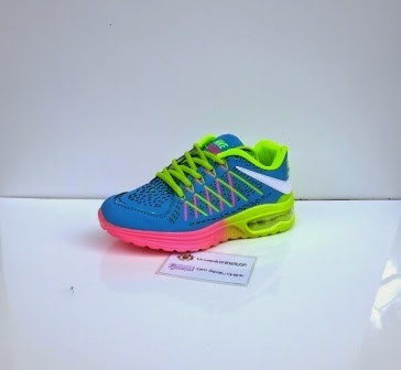 Sepatu Nike wanita warna Ijo, merah, pink, hitam, biru dan puti