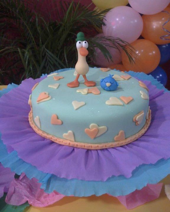 Tortas y decoraciones torta de pocoyo para ni a for Decoracion de tortas para ninas