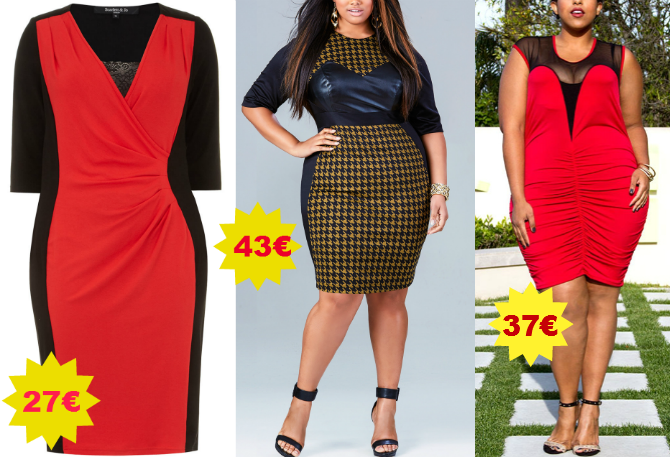 tubini plus size in saldo