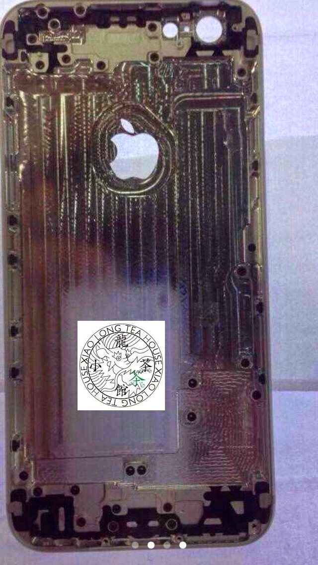 Leaked iPhone 6 Internal Rear Shell Photo