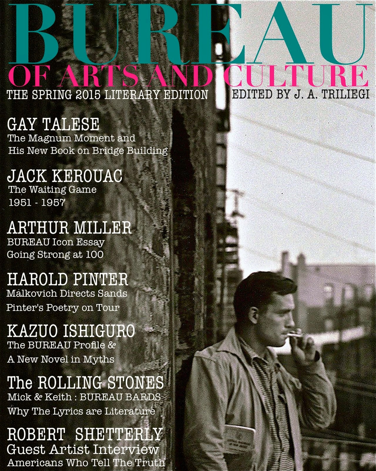 SPRING 2015 Literary Edition BUREAU OF ARTS and CULTURE MAGAZINE : Tap to Download