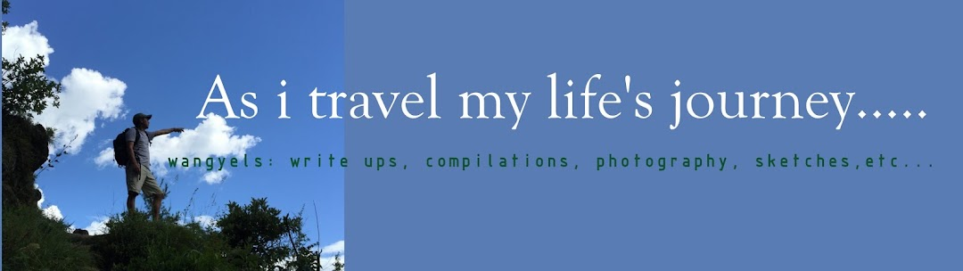 As i travel my life's journey.....