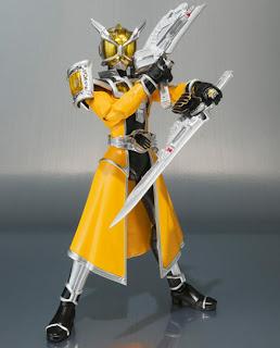 Bandai SH Figuarts Kamen Rider Wizard Land Dragon Figure