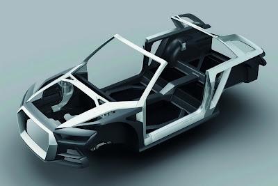 Mondial de Paris 2012 : Audi Crosslane Coupé Concept