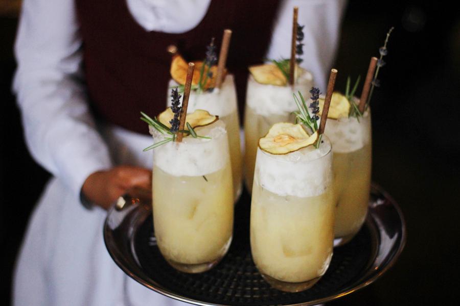 VII Hills gin tasting at Mr Fogg's, Mayfair London