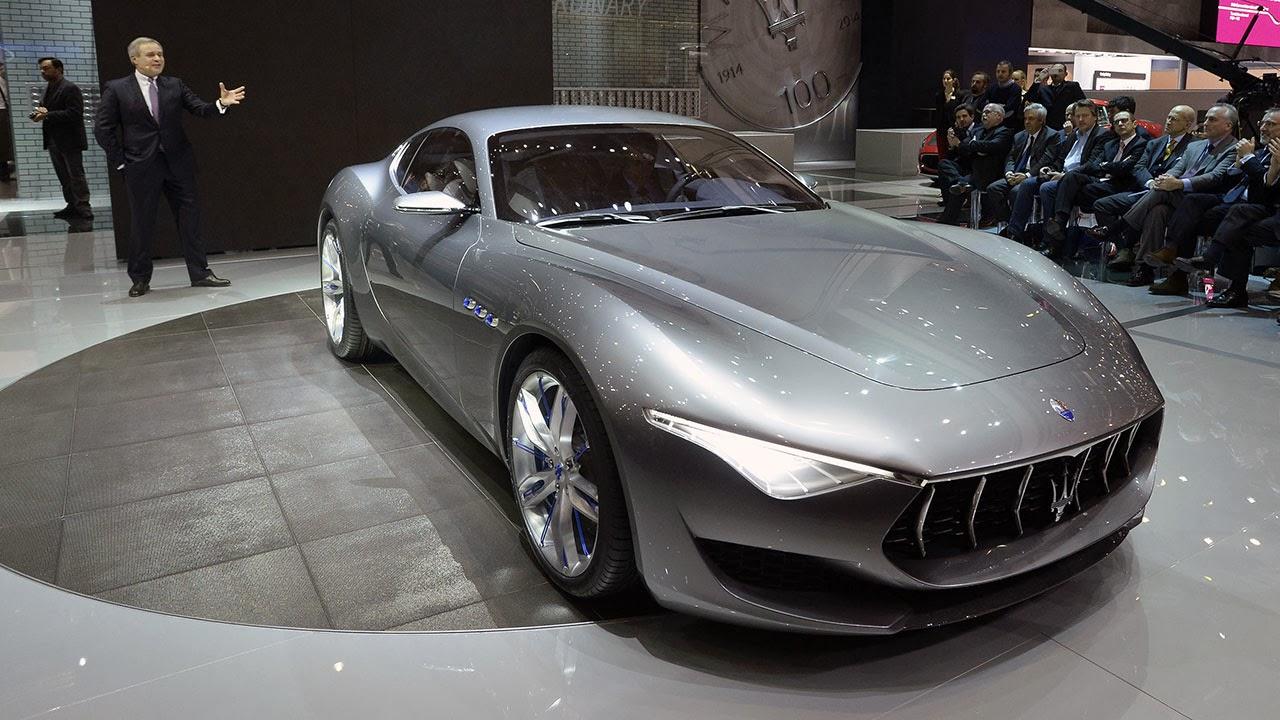 Maserati Alfieri Concept Car show front