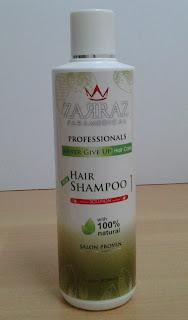 zarraz paramedical, shampoo rambut gugur