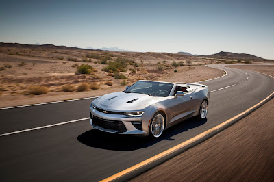 2016 Chevy Camaro Goes Topless Next Spring