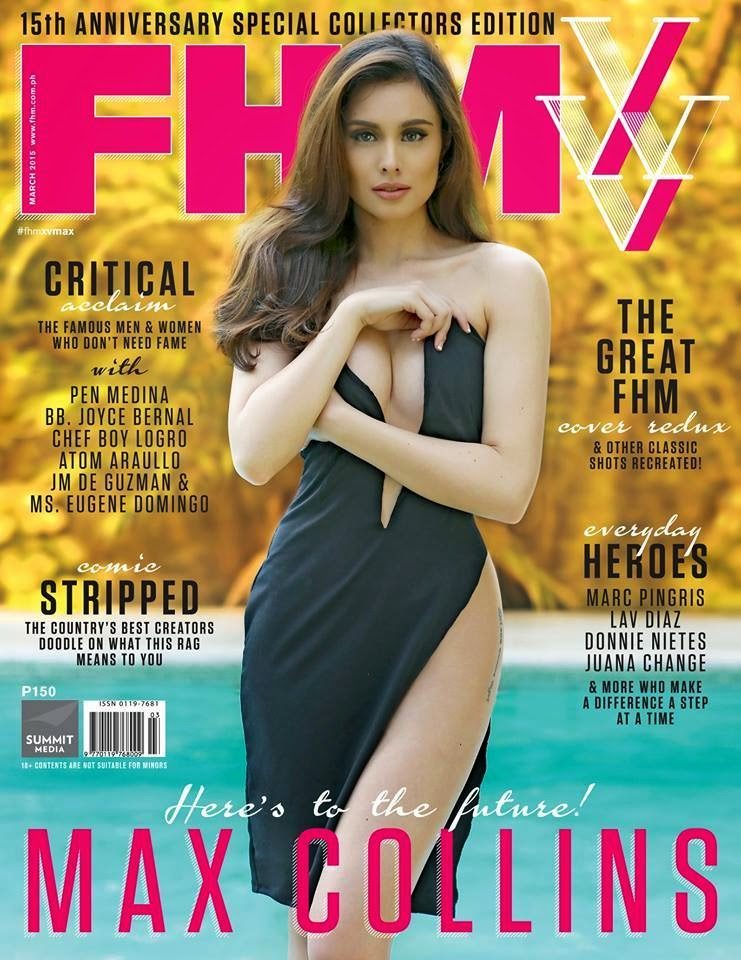 Actress, Model: Max Collins - FHM Philippines March 2015