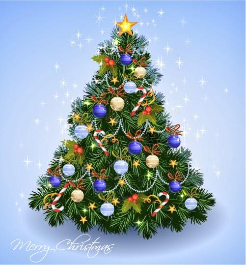 Árbol de Navidad - Vector