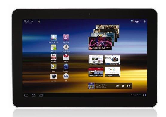 Galaxy Tab 10.1 Tablet Samsung Terbaru dengan Android Honeycomb 3.1