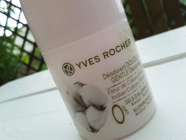 Yves Rocher - dezodorant w kulce: Kwiat bawełny z Indii.