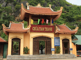 Thanh Tam Pagoda of Lang Son in Vietnam