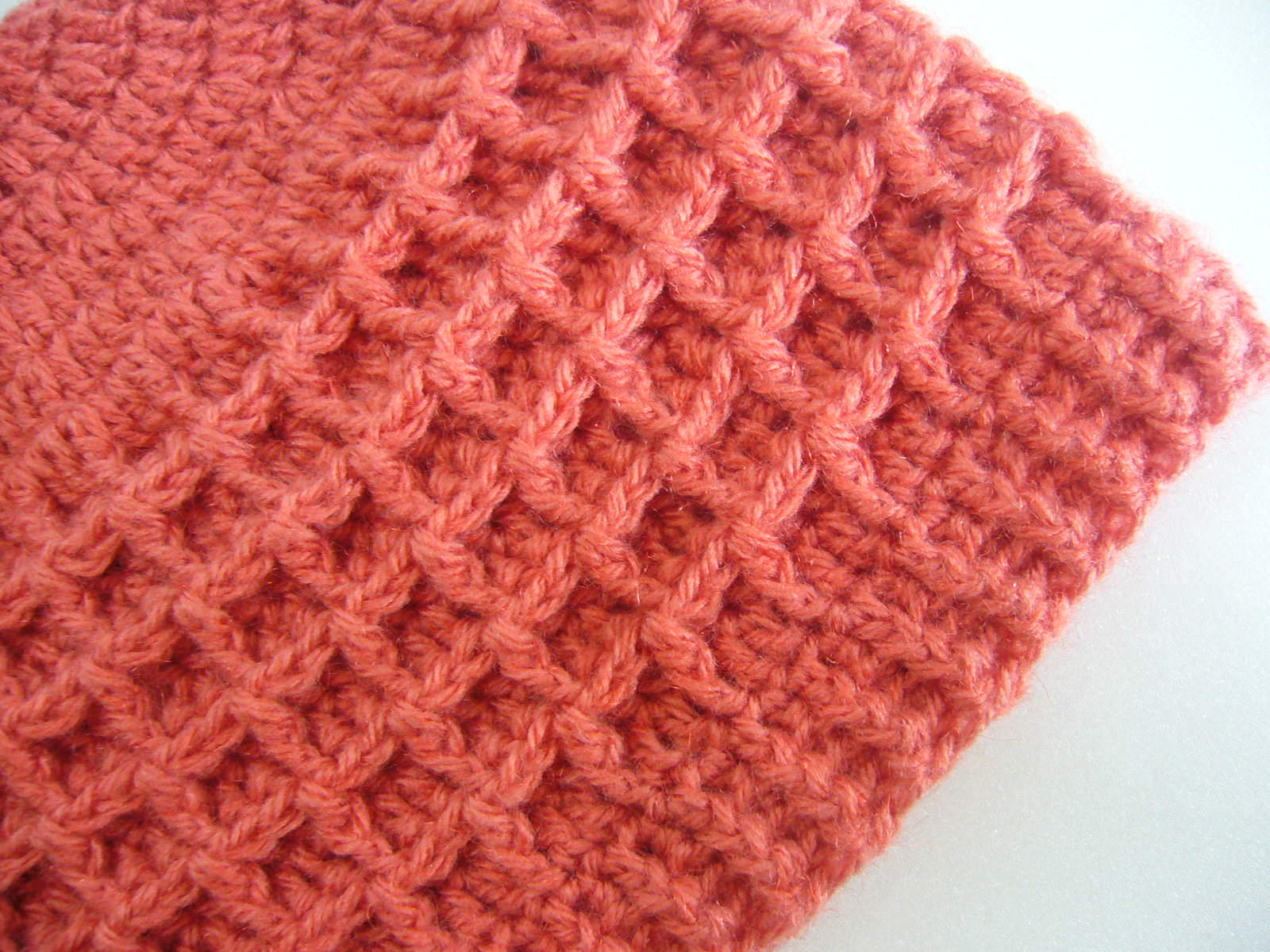 Crochet Patterns Waffle Stitch : Crochetkari: September 2015