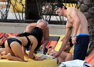Michael Phelps Girlfriend Megan Rossee 2013