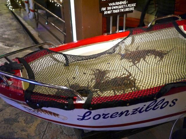 Lorenzillo's lobsters