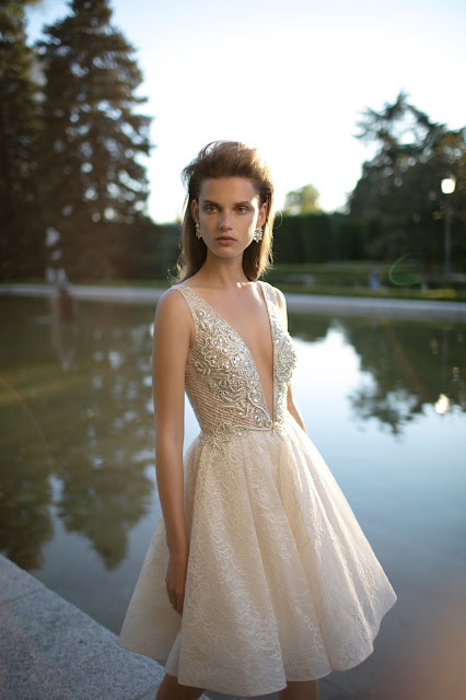 Berta Bridal 2016 wedding dress luxury details