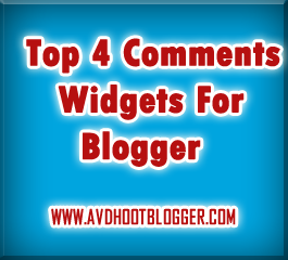 Top 4 Comment Widgets For Blogger with Installation Code