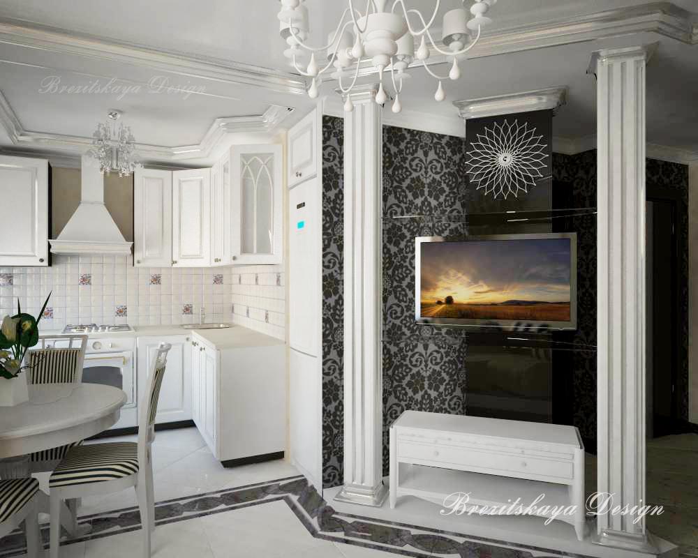 Дизайн кухни гостиной фото хрущевка