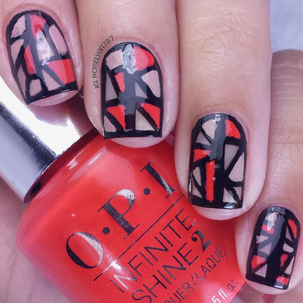 Nail Art Tutorial - Geometric Negative Space