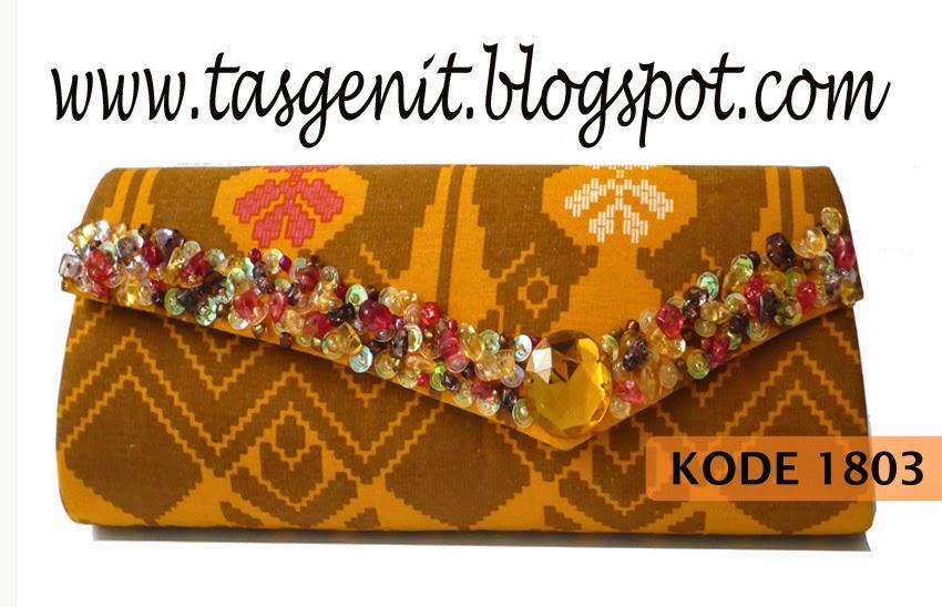 tas pesta batik, clutch bag batik, tas tenun troso jepara, dompet kebaya, dompet payet