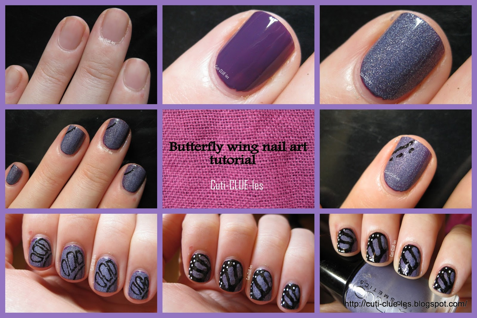 Butterfly Nail Designs Tutorial