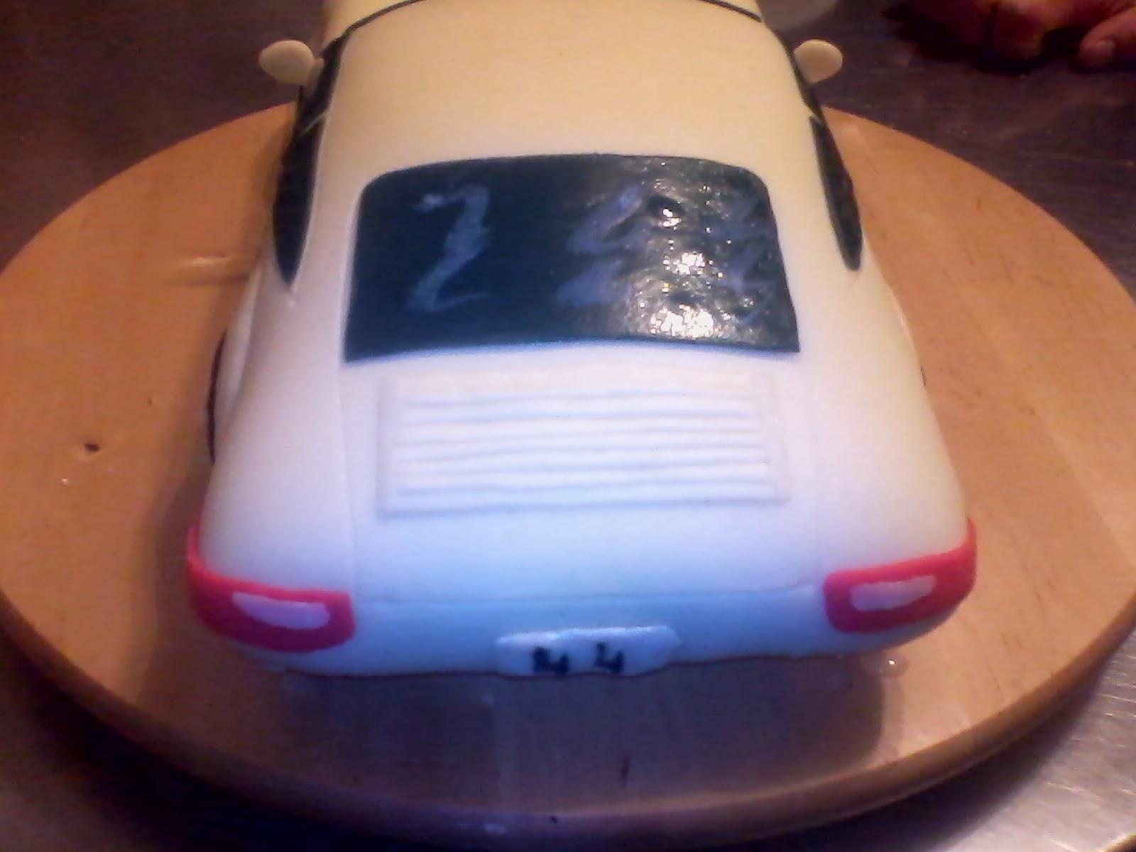 Torte A Tema A Latina Porsche Carrera Torta