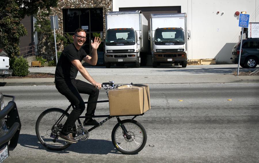 The Soma Blog: Introducing the Soma Tradesman Cargo Frameset