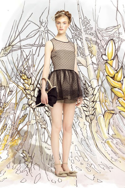 RED Valentino Spring 2014 Ready to Wear