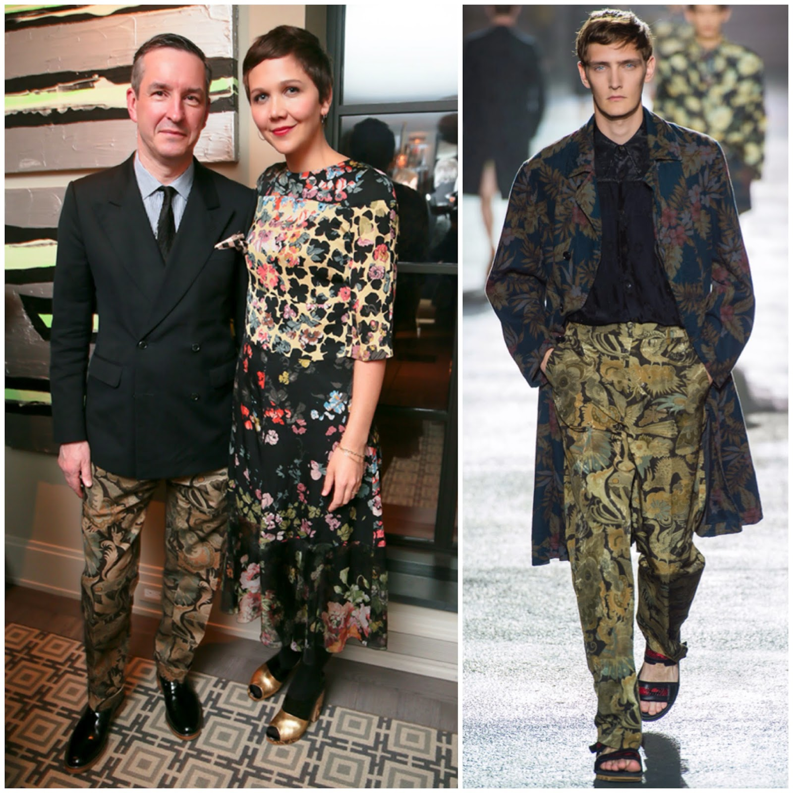 Dries Van Noten in Dries Van Noten - Barneys New York cocktail party and book signing