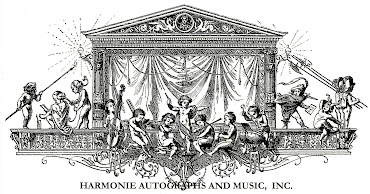 Harmonie Autographs and Music, Inc.