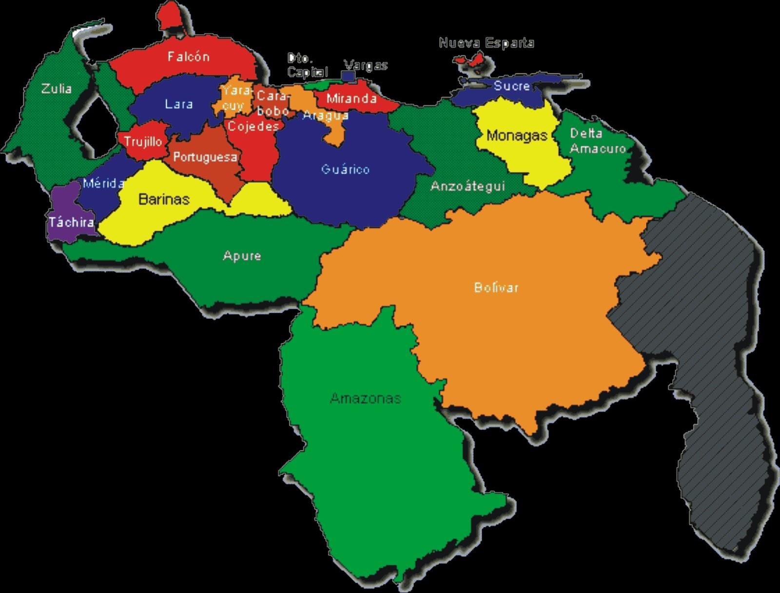 a-venezuela.com - MAPAS DE VENEZUELA.
