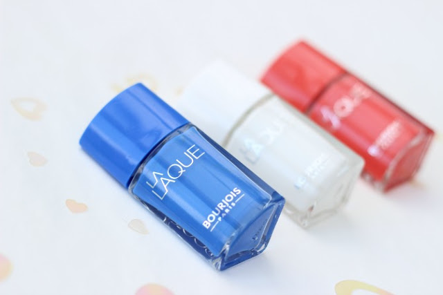 Bourjois la laque nail polishes