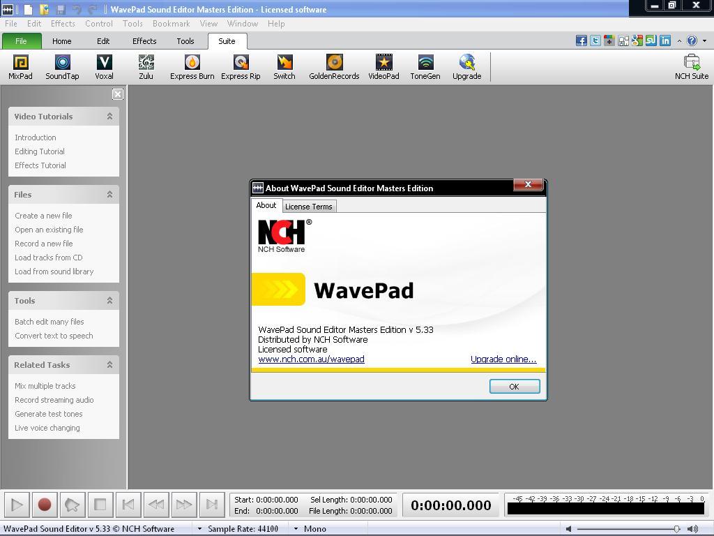 crack wavepad sound editor 5.33