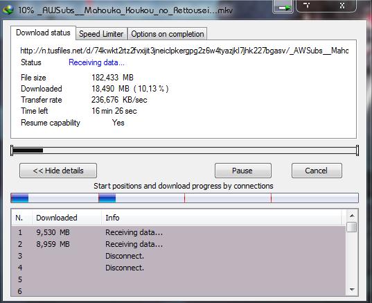 Cara menambah Kecepatan Internet Download Manager