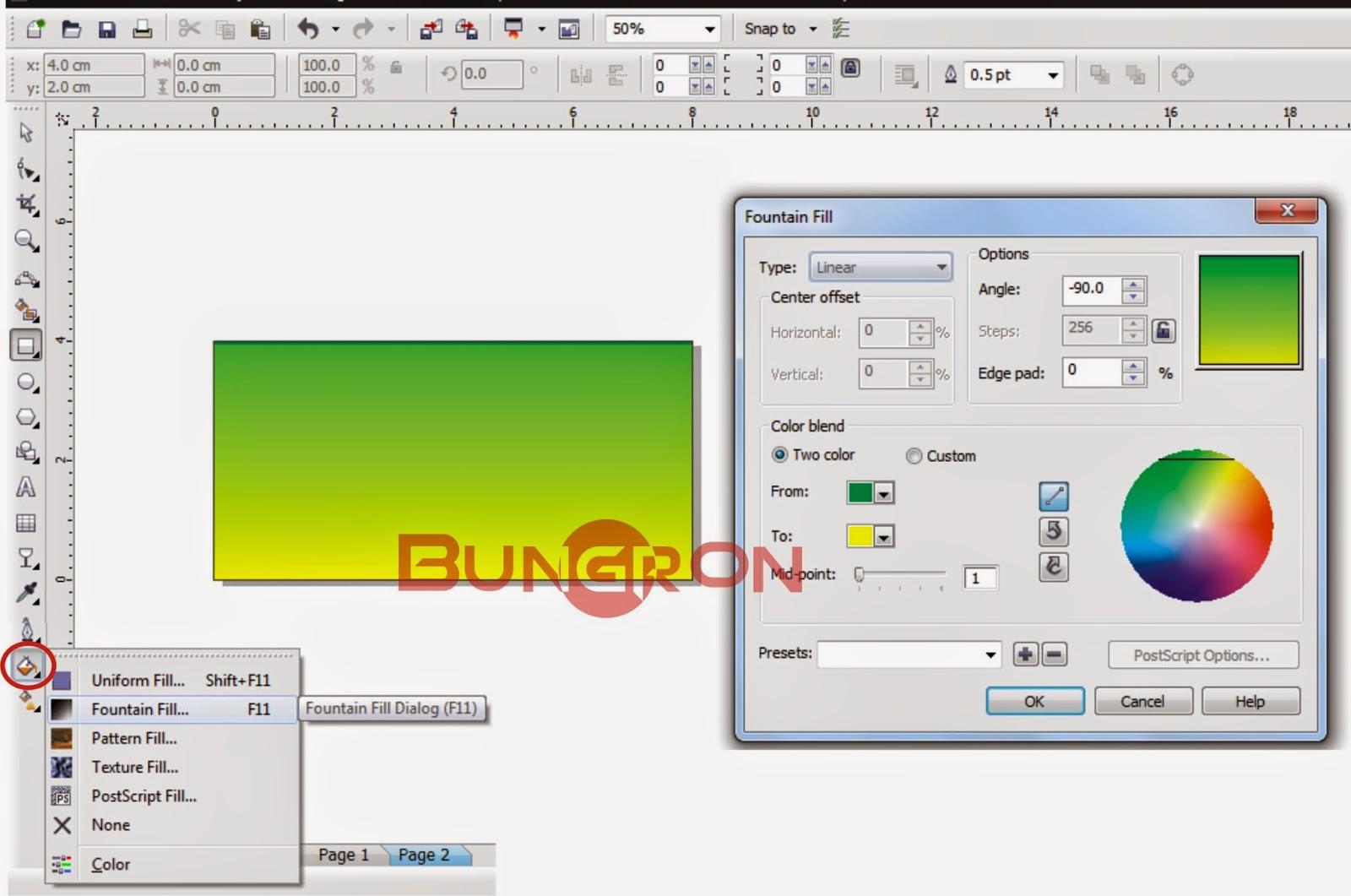 Cara Membuat ID Card di CorelDraw | Bungron