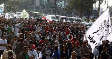 مسيرة حاشدة من مصطفى محمود إلى ميدان التحرير