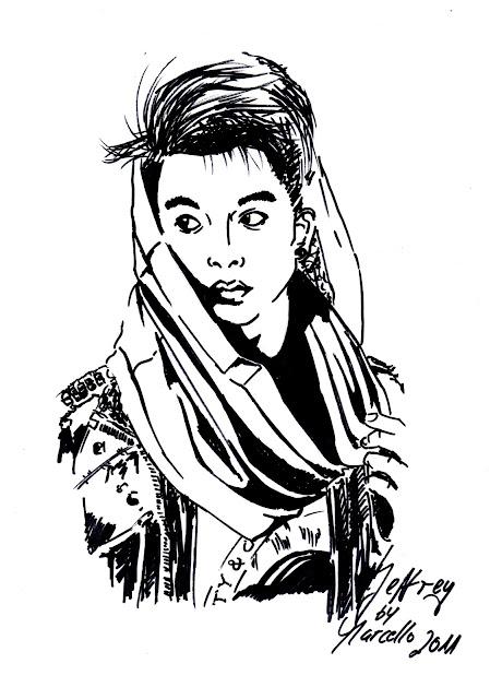 Sketch: Jeffrey