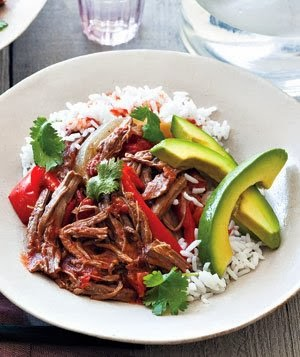 Slow cooker Cuban braised beef and peppers | Quentin Bacon