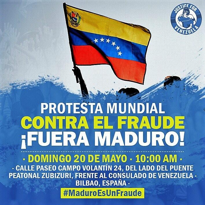 20 de maio, 10h: Bilbao