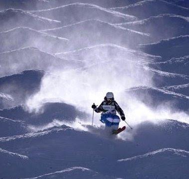 Cave Views: Skiing MOGULS