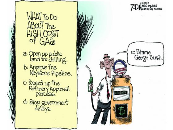 gas prices Obama