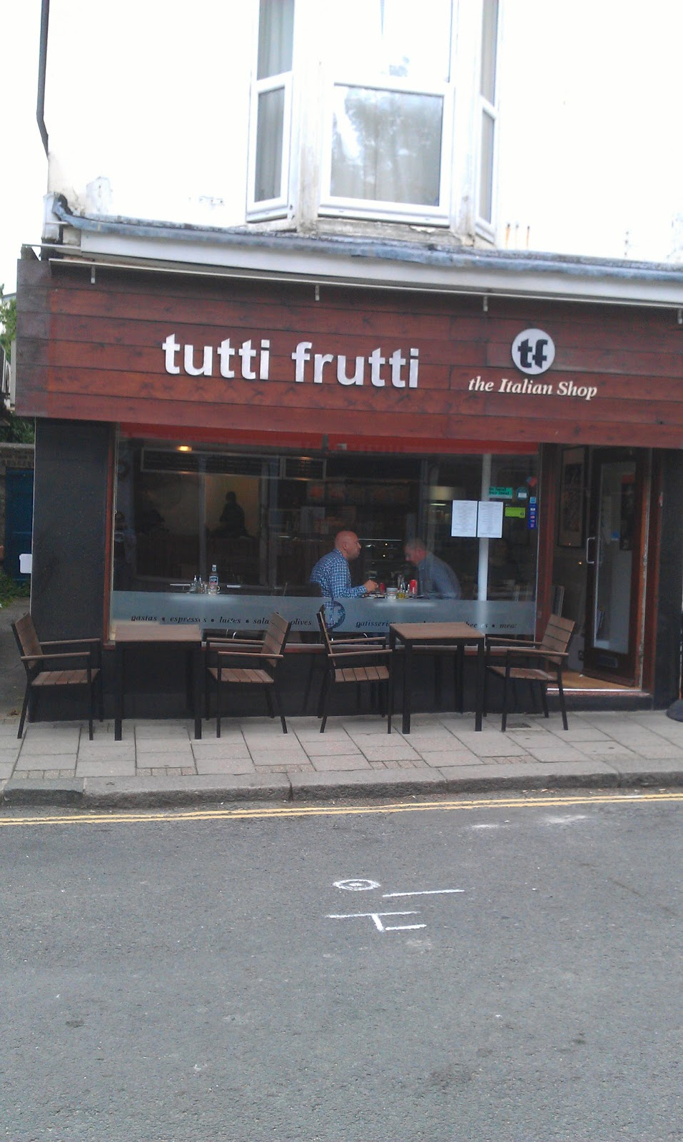 The Breakfast Club: Recovering with Rosie at Tutti Frutti