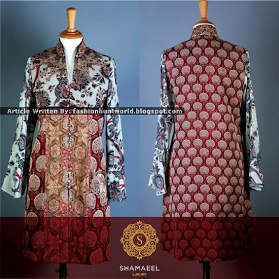 Shamaeel Ansari Presents Luxury Eid Pret 2015 Collection